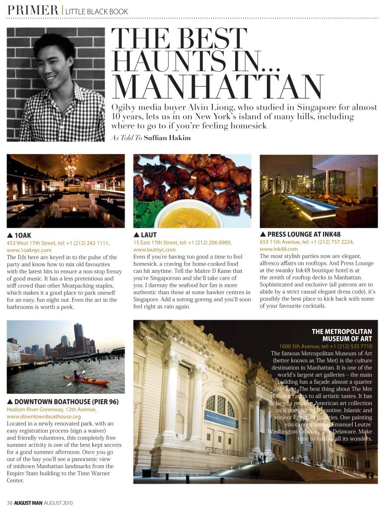The Best Haunts In Manhattan