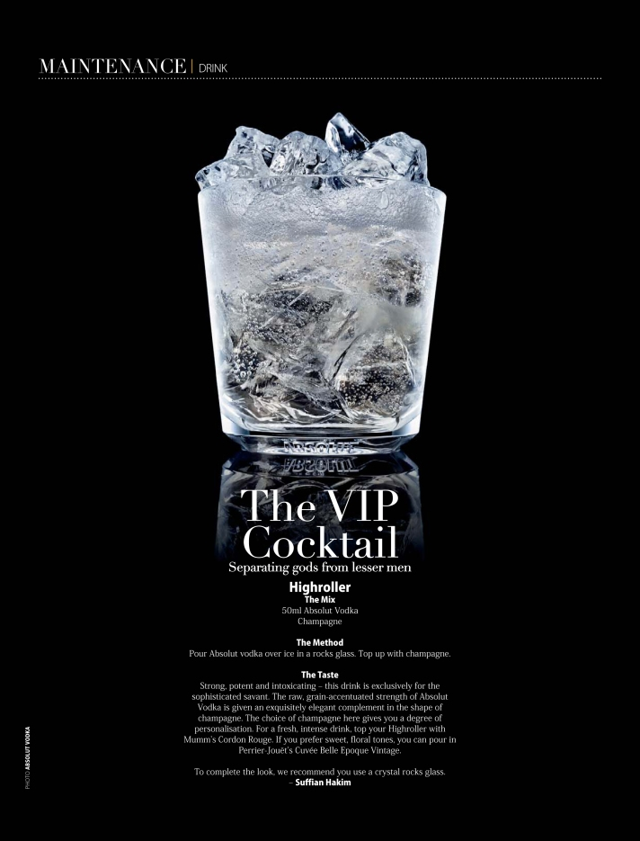 The VIP Cocktail