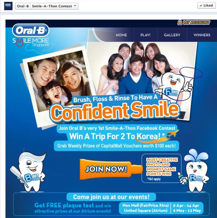 Oral-B Smile-A-Thon screengrab