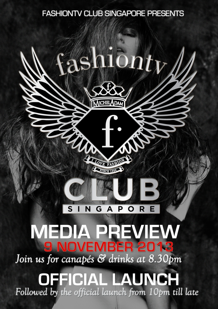 F Club Media Launch Poster