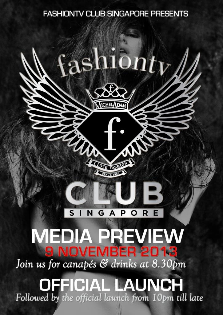 F Club Media Launch Poster