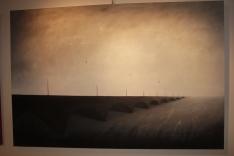 Invisible Bridges 2 (2014), 100cm X 150cm, Oil on canvas Sabiana Paoli Art Gallery